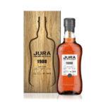 tirette jute avec logo PU, single malt Prestige Jura