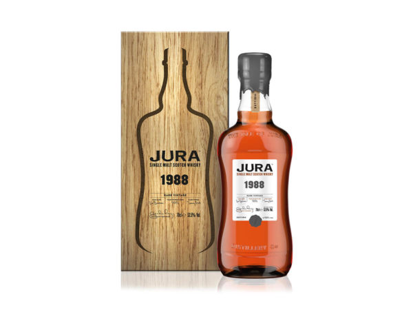 tirette jute avec logo PU, single malt Prestige Jura