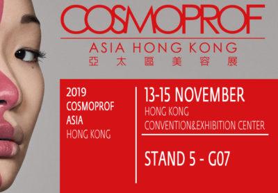 salon cosmoprof hong kong novembre 2019