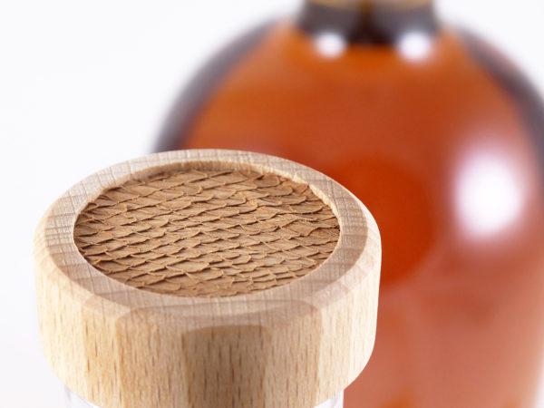 stickers en peau de saumon, tannage végétal